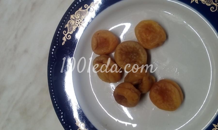 Йогурт из кефира с курагой, финиками, сливами и орешками: пошаговый с фото - Шаг 4