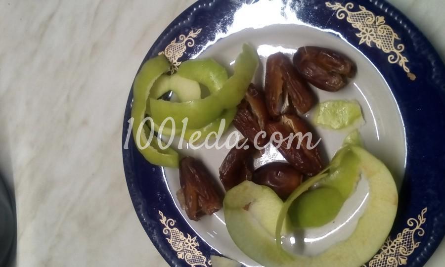 Йогурт из кефира с курагой, финиками, сливами и орешками: пошаговый с фото - Шаг 5