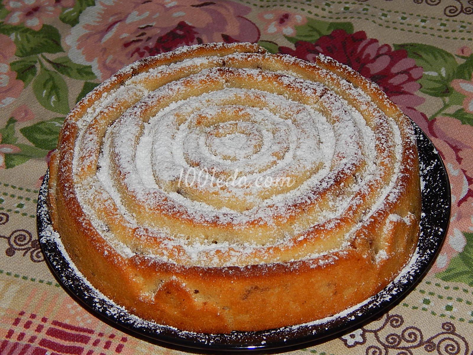 Манник на кефире и маргарине пошаговый рецепт