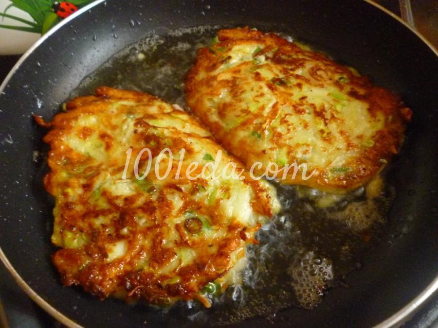 Кабачково-картофельные оладьи с сыром: пошаговый с фото - Шаг №4
