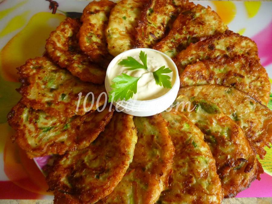 Кабачково-картофельные оладьи с сыром: пошаговый с фото - Шаг №5