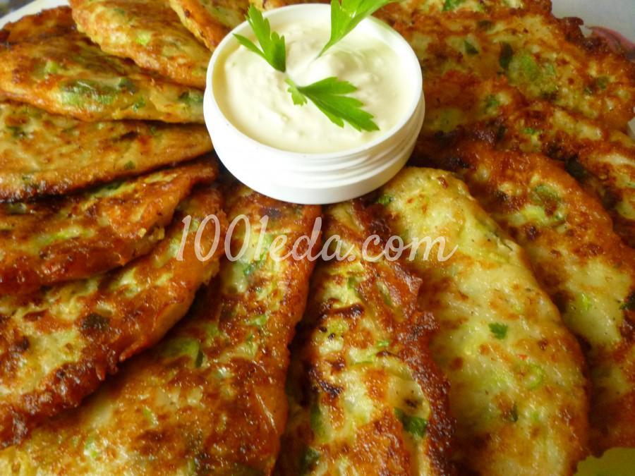 Кабачково-картофельные оладьи с сыром: пошаговый с фото - Шаг №6