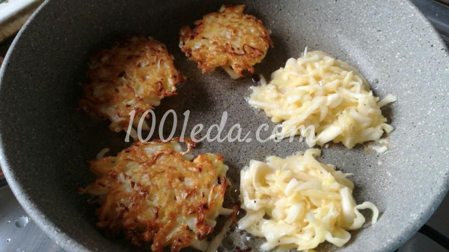 Капустно-картофельные драники