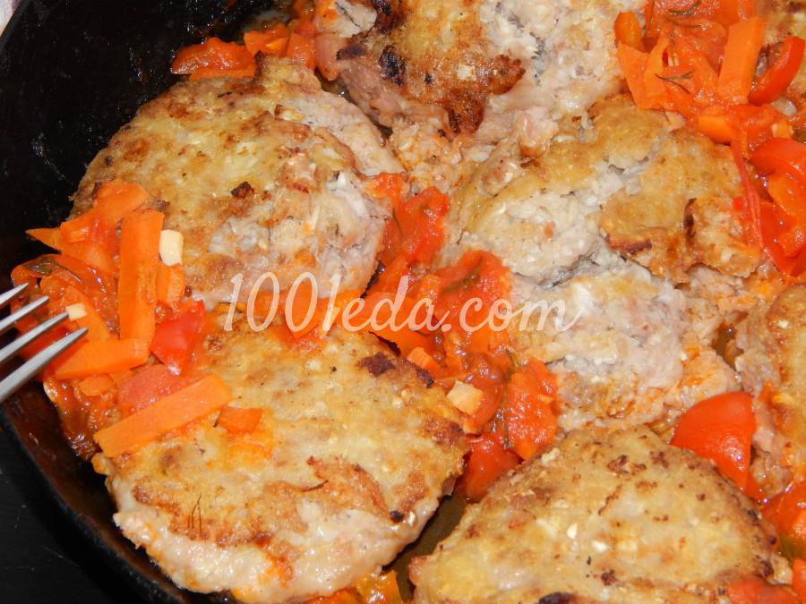 котлеты мясные с капустой рецепты с фото