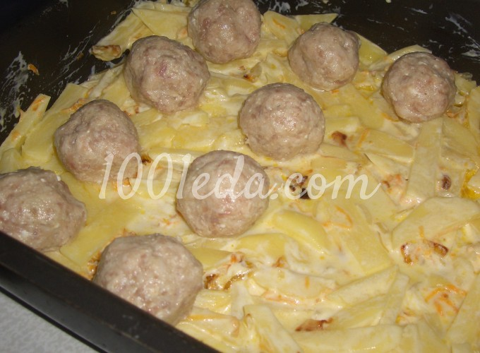 Фрикадельки в духовке рецепт с фото пошагово
