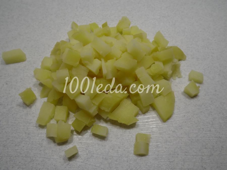 Картофельная запеканка с ветчиной: пошаговое фото - Шаг №4