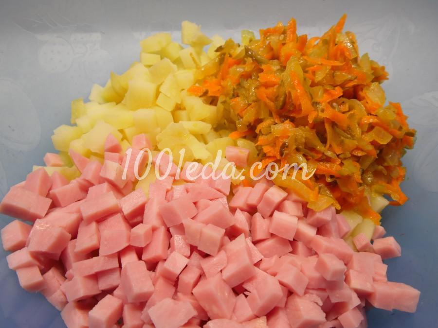 Картофельная запеканка с ветчиной: пошаговое фото - Шаг №6