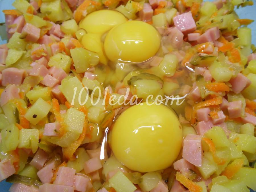 Картофельная запеканка с ветчиной: пошаговое фото - Шаг №7