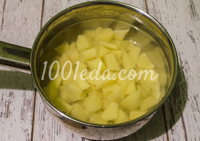 Картофельное пюре рецепт пошагово с в