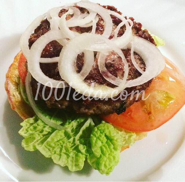 """Картофельный сэндвич """"Бульба-бургер"""": пошаговый с фото - Шаг №5"""