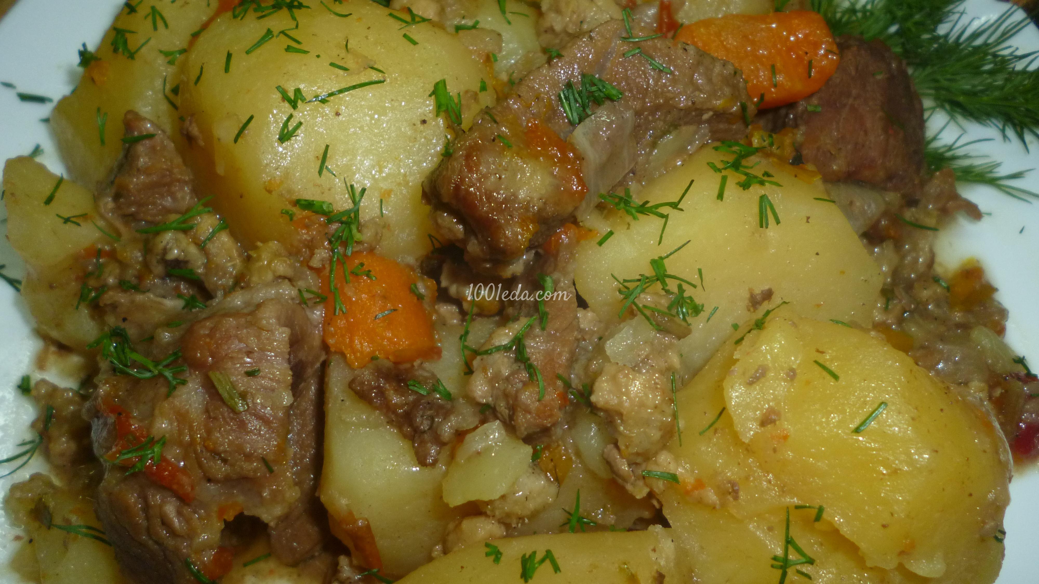 теплый салат с телятиной рецепт с листьями салата