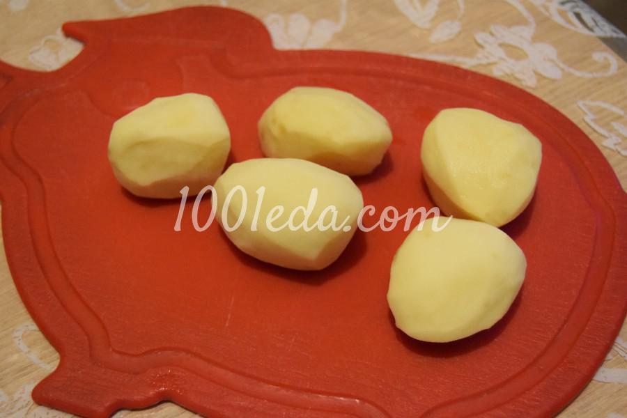 Картошка, жареная с орегано: рецепт с пошаговым фото - Шаг № 1