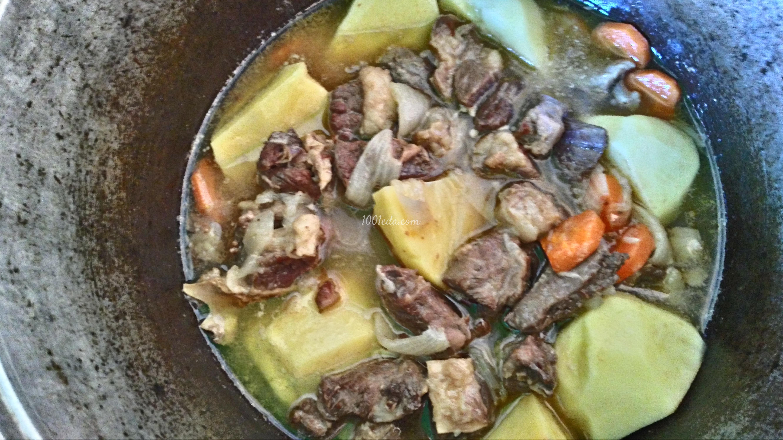 Рецепт говядины с овощами с пошагово