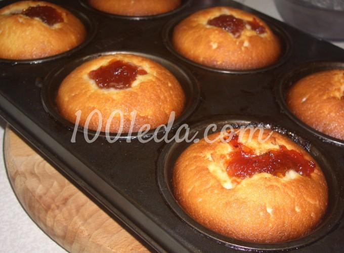 Кексы на кефире в формочках рецепты с фото рецепт пошаговый