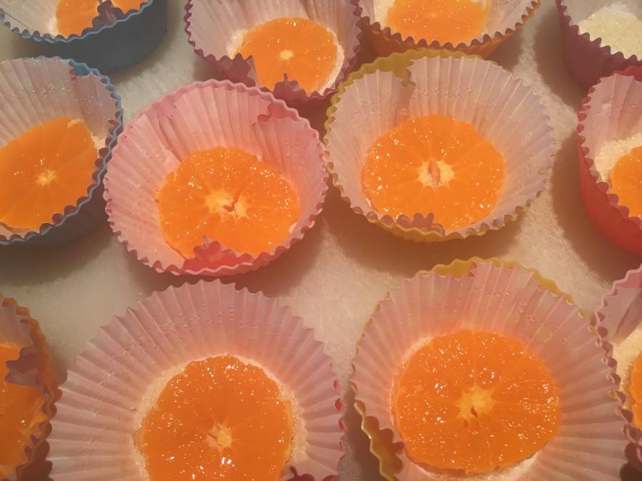 Кексы с мандаринами: рецепт с пошаговым фото - Шаг №5