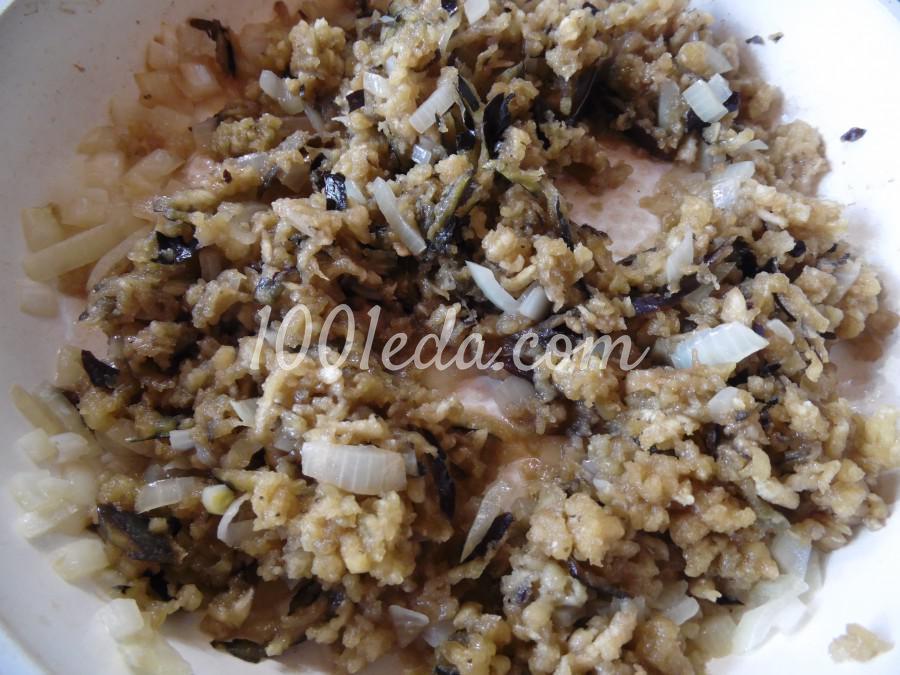 Котлеты из баклажанов с адыгейским сыром: рецепт с пошаговым фото - Шаг №2