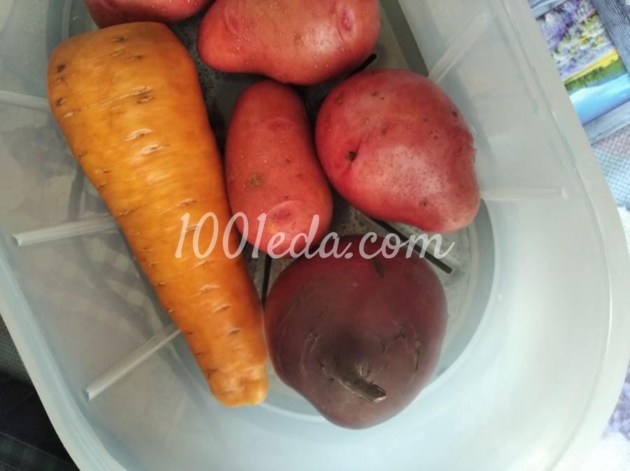 Красивый и вкусный салат - мой Винегрет: пошаговый с фото - Шаг №1