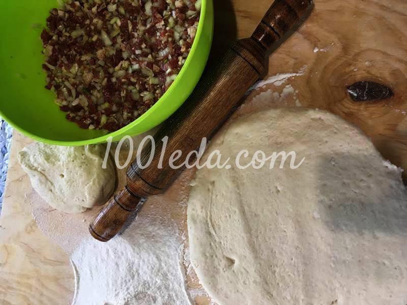 Кубите - мясной караимский пирог с бараниной: рецепт с пошаговым фото - Шаг №3