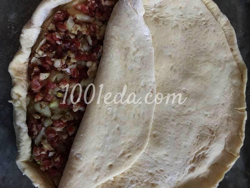 Кубите - мясной караимский пирог с бараниной: рецепт с пошаговым фото - Шаг №5