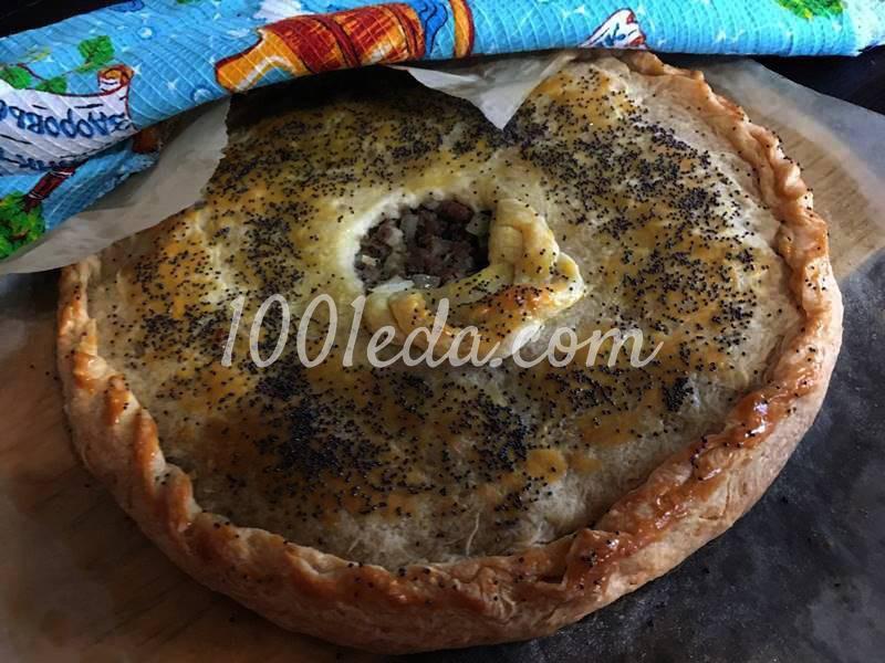 Кубите - мясной караимский пирог с бараниной: рецепт с пошаговым фото - Шаг №7