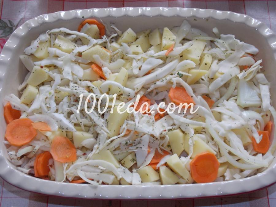 Курица на овощной подушке: рецепт с пошаговым фото - Шаг № 2