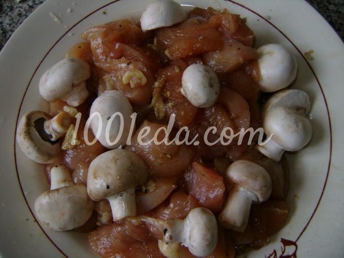 грибы и курица в тарталетках рецепт