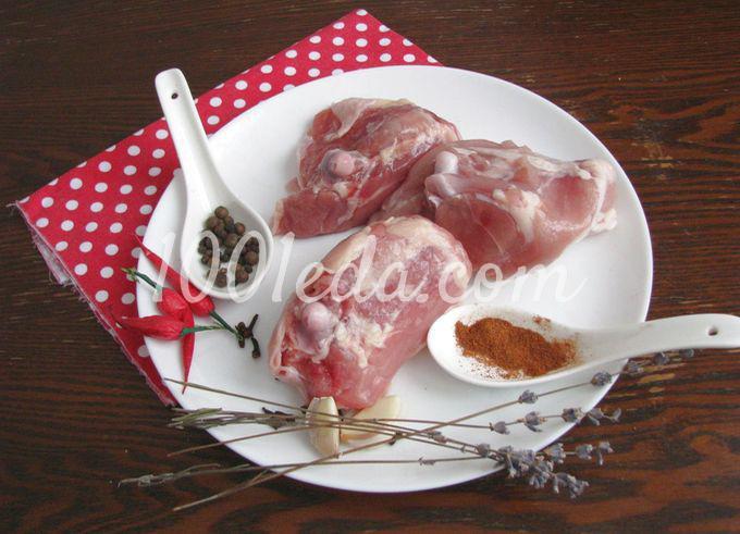 Курица с вишневым соусом: пошаговое фото - Шаг №2