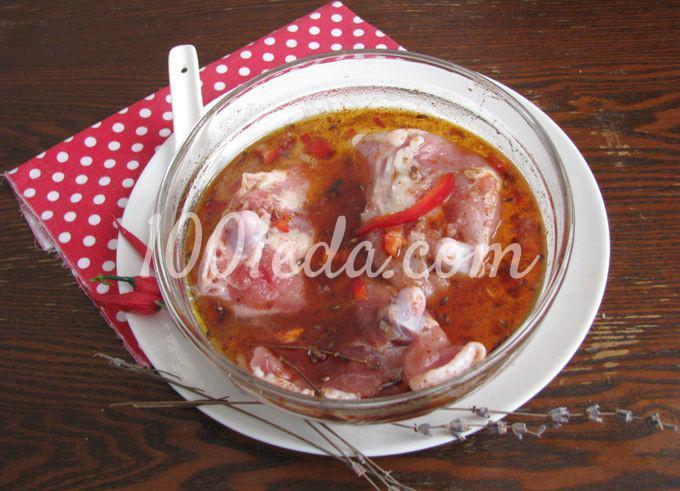 Курица с вишневым соусом: пошаговое фото - Шаг №4