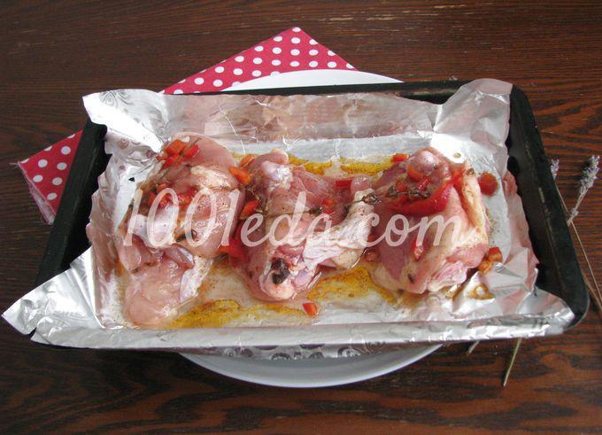 Курица с вишневым соусом: пошаговое фото - Шаг №5