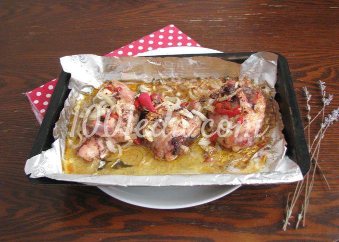 Курица с вишневым соусом: пошаговое фото - Шаг №9