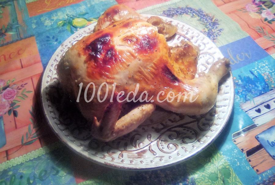 Курица, запечённая целиком в рукаве в духовке: пошаговое фото - Шаг №4