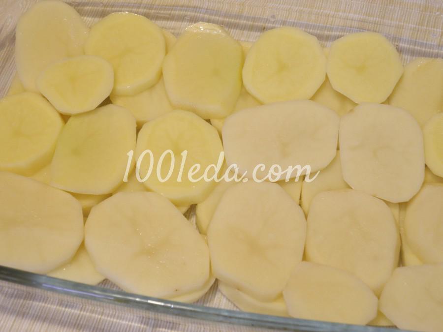 Куриное филе с картофелем в духовке: пошаговое фото - Шаг №1
