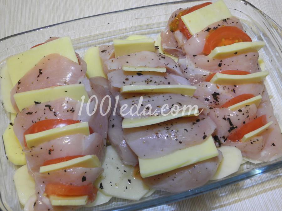 Куриное филе с картофелем в духовке: пошаговое фото - Шаг №5