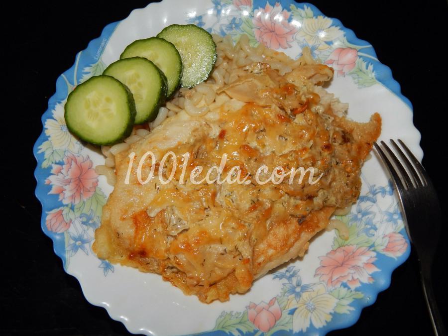 Куриные отбивные с капустой и белыми грибами под сырной корочкой - Шаг №1