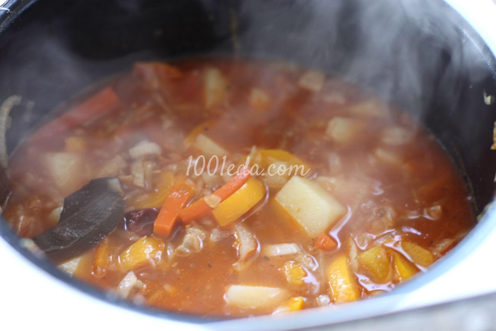 Лагман суп со свининой рецепт с пошагово