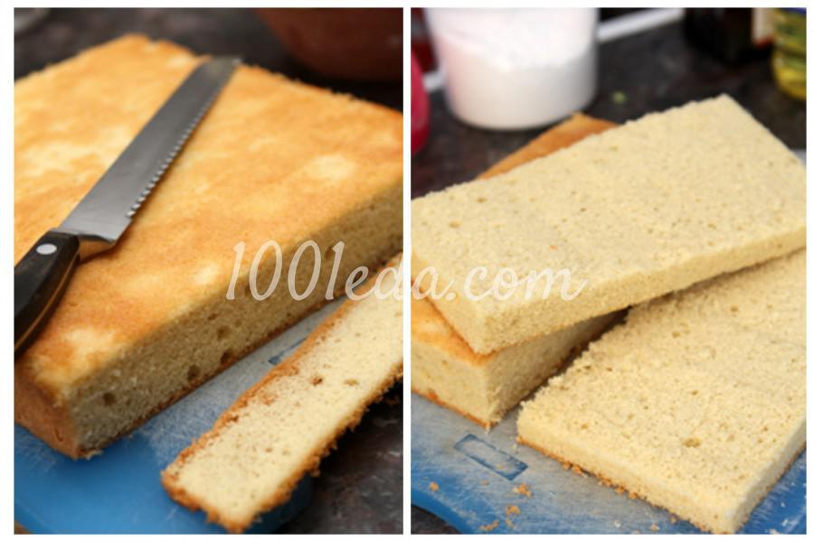 Пирожное Ламингтон: пошаговый с фото - Шаг №2