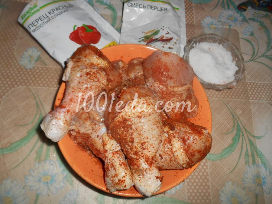 Куриные голени рецепт фото пошагово