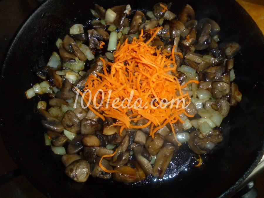 Ленивый фаршированный грибами окорочок в духовке: рецепт с пошаговым фото - Шаг №1