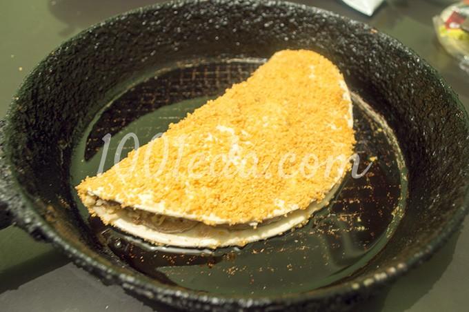 Жареные креветки в панировке рецепт 17