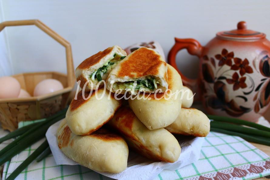 Летние пирожки с зеленым луком и яйцом: пошаговое фото - Шаг №6
