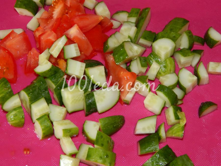 Летний легкий овощной салат с зеленью: пошаговый с фото - Шаг №2