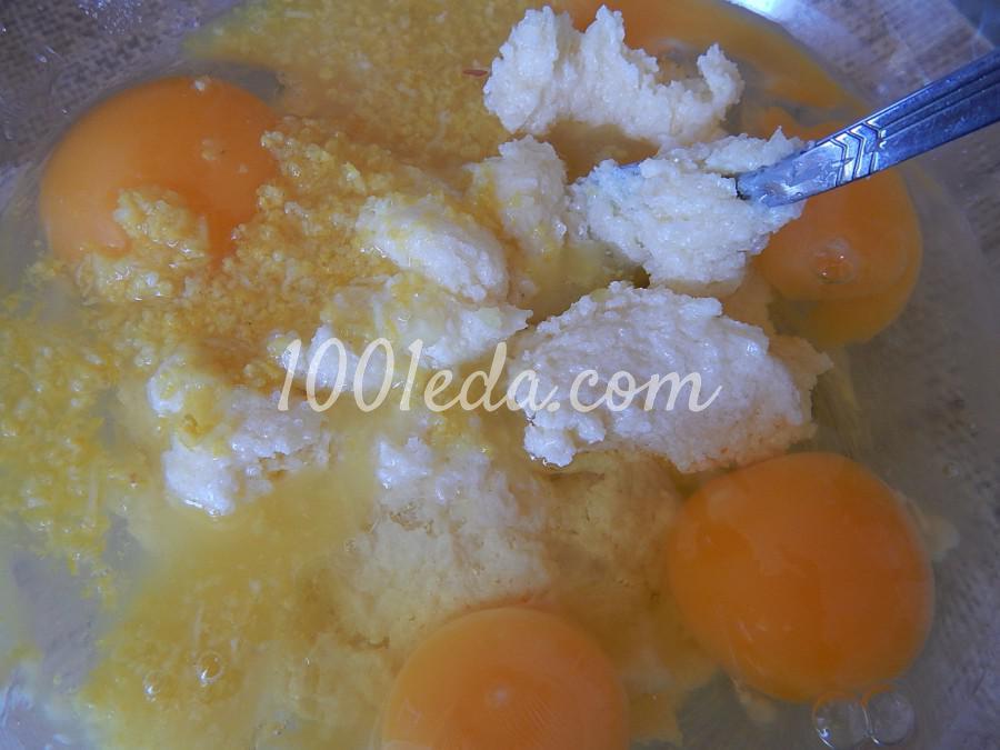 Лимонный пирог с цукатами в мультиварке: рецепт с пошаговым фото - Шаг №3