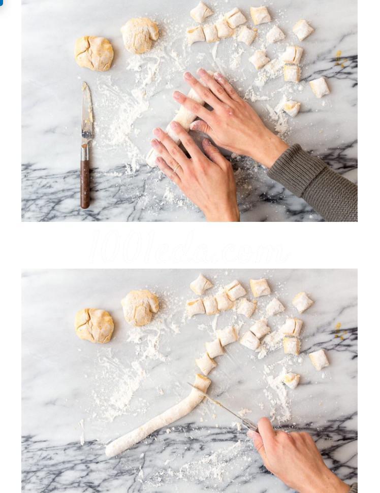 Лёгкие тыквенные ньокки с шалфеем и сливочным соусом: пошагово с фото - Шаг №4