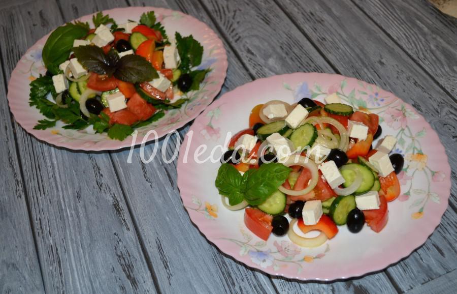 Любимый летний салат «Греческий»: пошаговое фото - Шаг №3