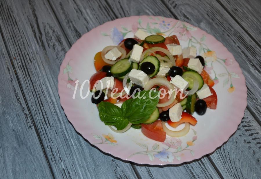 Любимый летний салат «Греческий»: пошаговое фото - Шаг №4