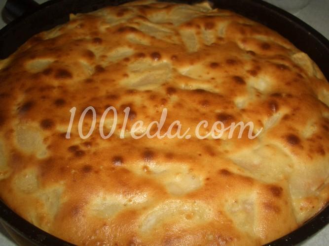 Рецепт пирог с яблоками шарлотка с пошагово в