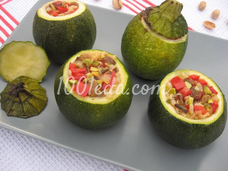 Фаршированные мини-кабачки по-индийски: рецепт с пошаговым фото - Шаг №6
