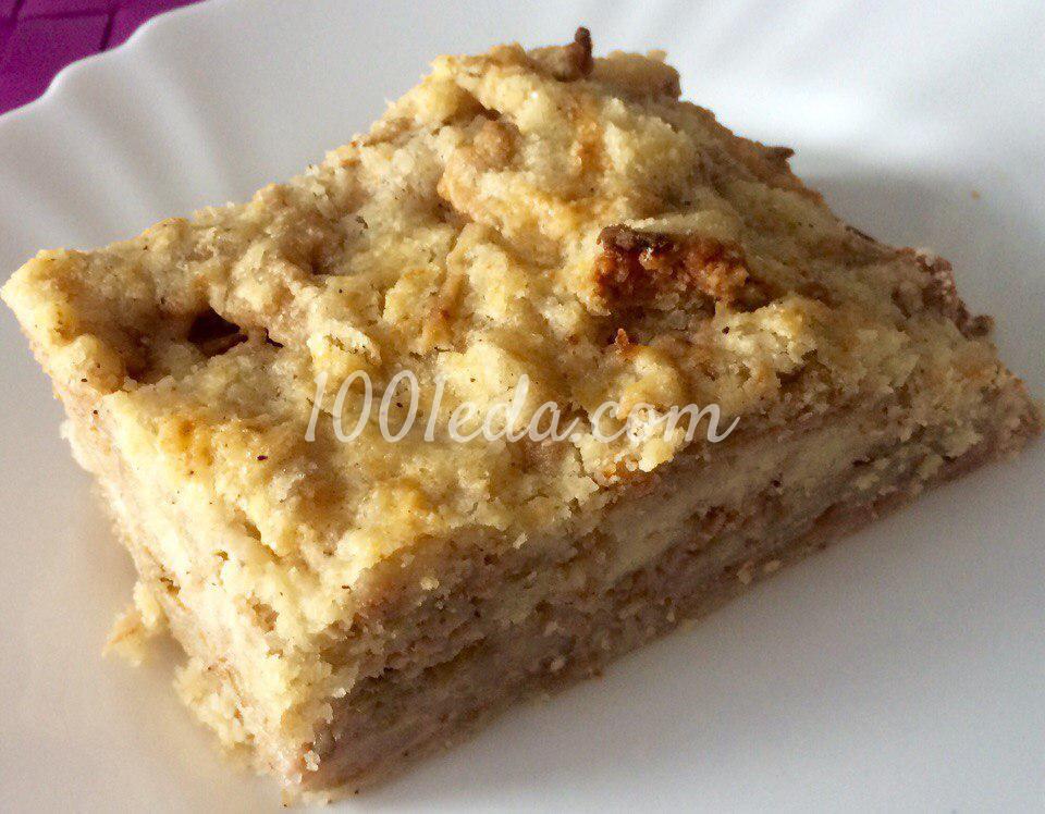 Пирог без яиц с яблоками рецепт пошагово в духовке 90