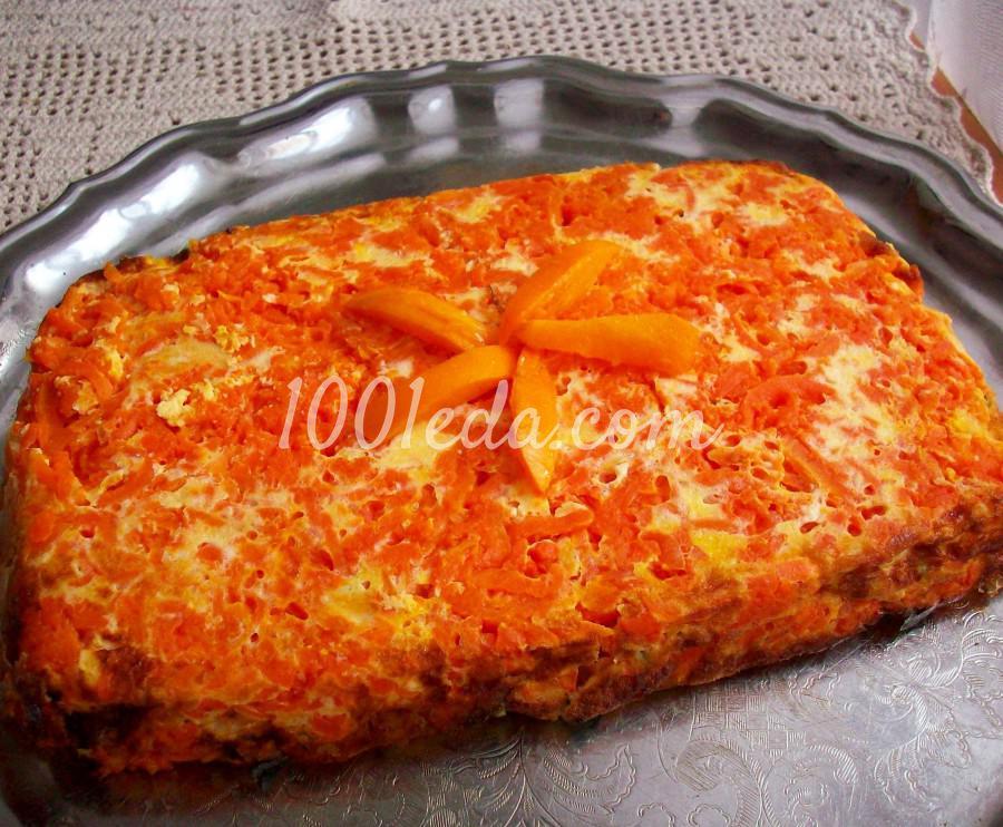 Морковное суфле рецепт пошагово