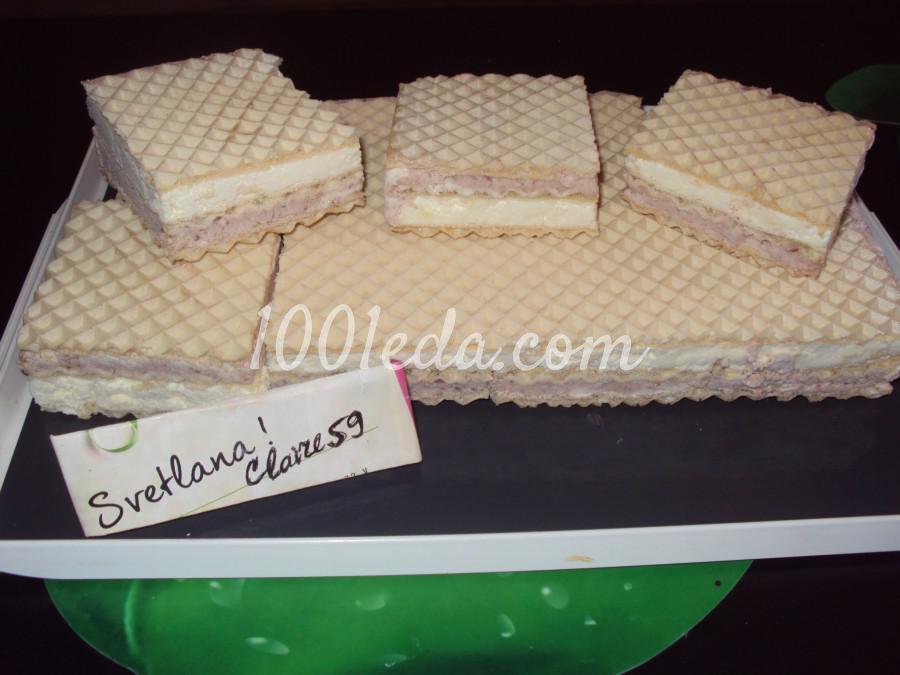 Мороженое Пломбир с вафлями